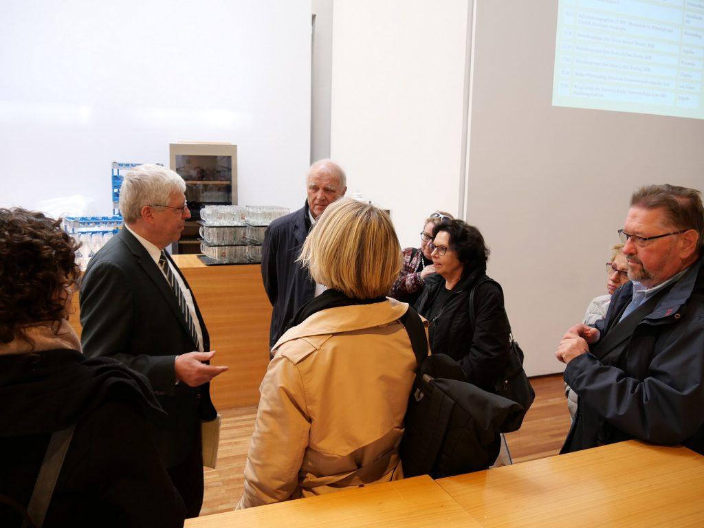Treffen mit der Landesvertretung Baden Württemberg